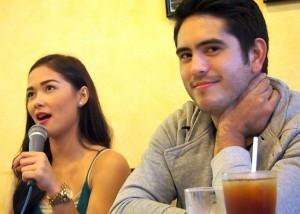 Maja Salvador and Gerald Anderson (MNS Photo)