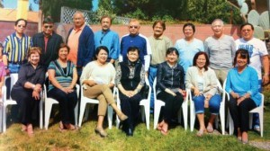 DAUSA 2014 Officers and Board of Directors (BOD). Seated: Lyn Tuazon (Asst. Sec.), Emma  Morales, Rose Villanueva (Asst. Treas.), Irma Diaz, Odette Erfe, Cely Gagajena (Secretary),  Zeny Angeles (Treasurer), and Linda Mañalac. Standing: Obet Tuazon, Dr. Toti Morales (BOD),  Edwin Erfe (Auditor), Rene Diaz (BOD), Tato de la Paz (BOD), Panny Gagajena (President), Sam  Sabandal (PRO), Eloy Angeles (BOD, Asst. Auditor), Boy Mañalac, and Jimmy Villanueva (VP,  Asst. PRO). BOD members not in the photo: Yoyoy Leonor, Steve Yuvienco, Ador Ledesma, Atty.  Bert Doller, Melissa de Belen, and Ruby Villanueva. Adviser Emeritus: Nonoy Morada.