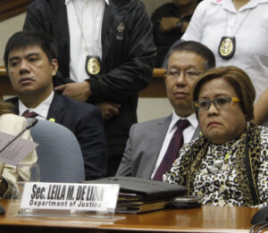 Justice Secretary Leila de Lima (MNS Photo)