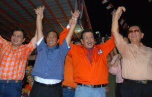 Senators Jinggoy Estrada (leftmost) and Juan Ponce Enrile (rightmost) may land in jail if plunder charges, a non-bailable offense, are filed against them. The two, along with Sen. Bong Revilla, have been named by whistleblowers and alleged pork scam mastermind Janet Lim-Napoles as the lawmakers who accepted bribes for ghost projects. In photo with the senators are ousted president and now Manila Mayor Joseph Estrada (second from right) and Vice President Jejomar Binay, who is also the presumptive presidential opposition candidate in 2016.