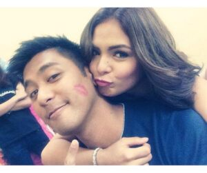 Rocco Nacino and Lovi Poe (MNS photo)