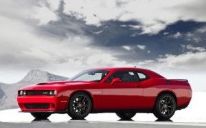 The 2015 Dodge Challenger SRT Its supercharged 6.2-liter V8 develops 707hp. ©Dodge