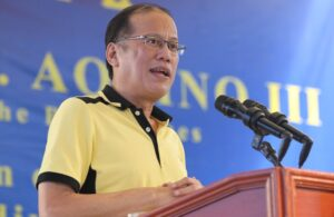 President Benigno Aquino III deliver his message during inauguration of the Iloilo River Plains Subdivision Phase 1 in Brgy. Lanit, Jaro District, Iloilo City on Friday (June 27, 2014) Photo by: Ryan Lim/ Malacanang Photo Bureau