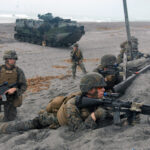US, PHL troops 'assault' beach