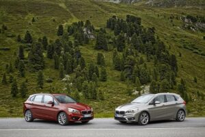 The new BMW 218d Active Tourer and 225i Active Tourer. ©BMW