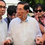 FVR says Enrile sick, in isolation since Wednesday