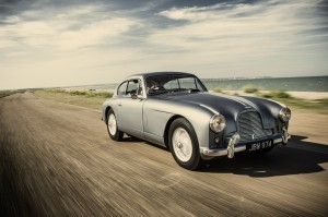 "This 1954 Aston Martin DB 2/4 Mk I Vantage inspired Ian Fleming as he was writing the James Bond novel ""Goldfinger."" ©COYS"