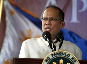 "President Benigno S. Aquino III delivers his speech during the commemoration of the 150th Birth Anniversary of Apolinario Mabini at the Apolinario Mabini Shrine in Barangay Talaga, Tanauan City, Batangas on Wednesday (July 23, 2014). With theme: ""Mabini: Talino at Paninindigan,"" the yearlong festivities aims to honor Mabini, the ""Sublime paralytic,"" as the brains behind the Philippine revolution. (MNS Photo)"