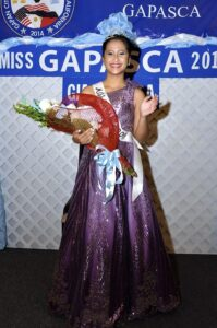 Gia Janella Padiernos is crowned Miss GAPASCA.