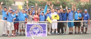 Summer Tennis Fun: Buena Park Tennis Circle highlights the summer season with a well-attended tennis tournament that not only drew the members closer in friendly matches but strengthened likewise their physical beings through their common love for the sport of tennis. BPTC, has grown over the years with new members added to its roster for social and other reasons. The club plays regularly at Boiserranc Park in Buena Park.