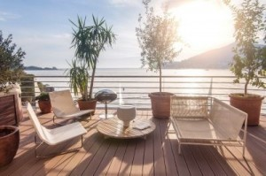 "The project includes Dukley Gardens, ""Dukley Residences: Modern Living at Old Town Budva"" and the Budva Marina. ©Dukley"