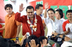Talk of Estrada possibly running anew for 2016 started after Vice President Jejomar Binay said he has information that some Liberal Party members are considering adopting him as a guest candidate for the 2016 presidential race.