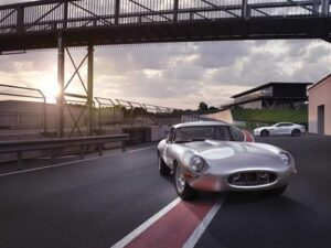 Jaguar Land Rover reveals new Lightweight E-Type. ©Jaguar Heritage