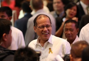 "President Benigno S. Aquino III graces the ""History and her Story"" – A Special Commemorative Photo Exhibit on the 5th Death Anniversary of former President Corazon C. Aquino at the Glorietta Activity Center in Palm Drive, Makati City on Monday (August 04, 2014). The exhibit gives its readers a rare glimpse into Mrs. Aquino's life – from her school years at the St. Scholastica's College, to her marriage to the late Senator Benigno Aquino, Jr., to the People Power revolution that changed her life, and in the process, Philippine history. It also revisits Mrs. Aquino's years as the first female President of the Philippines from 1987 to 1992. (MNS photo)"