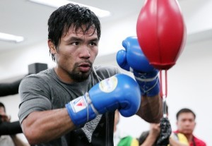 Philippines sports legend Manny Pacquiao