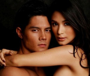 Daniel Matsunaga and Heart Evangelista (MNS photo)