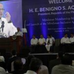 Aquino says gov't addressing human rights