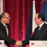 Franch president heads to PHL for climate push
