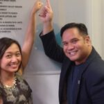 UCLA Pilipino alumni name dedicated on new UCLA Scholarship Endowments Wall