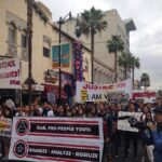 Hundreds marched for equity and justice for veterans in Hollywood on Veterans Day, 2014