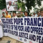 Devotees urged: No need to touch the Pope