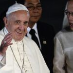 Pope calls for more courage on climate change