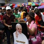 Rains threaten papal mass on storm-hit Leyte
