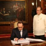 Philippines, France sign agreements on tourism, education