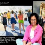 Artist Lynda A. N. Reyes participates in two juried shows in California