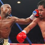 'I take my hat off to Manny' says Mayweather