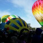 Colorful 'giant bubbles' in the sky at the Sonoma County Hot Air Balloon Classic Festival