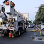 SCE crews restore power in Long Beach