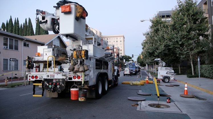 SCE crews restore power in Long Beach   Balita com