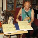Senior expat takes pride in his '1734' PHL map copy