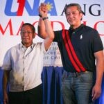 Bongbong, among 6 choices for Binay's running mate, says UNA