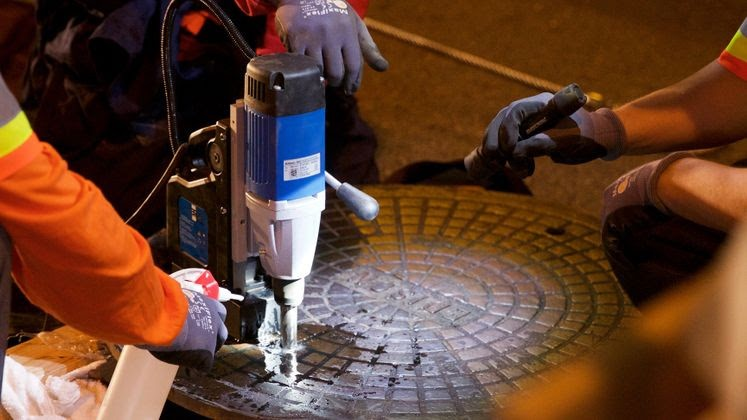 SCE to tether manhole covers in Long Beach, issue bill