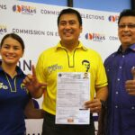 Former MMDA chief Tolentino, Mark Lapid file COCs for senator