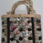 Lourdes Trinidad-Ocampo turns recycled newspapers into intricately-crafted handbags