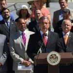 Assemblymembers unite in LA to urge Brown to sign medical marijuana legislation