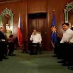 Hong Kong Tycoon Richard Li pays courtesy call on Aquino
