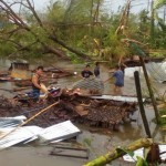 Nine killed as Typhoon Nona causes chaos in central Philippines