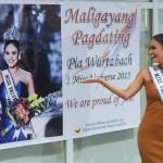Miss Universe Pia Wurtzbach back in PHL