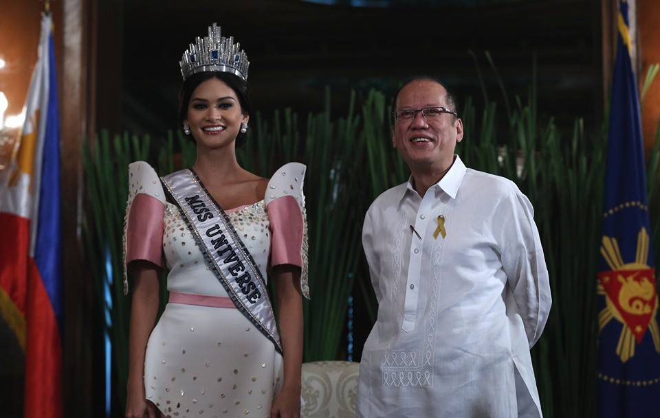 Miss Universe 2015 Pia Wurtzbach pays courtesy call on