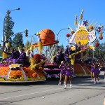It was 'Showtime' at the 127th Rose Parade