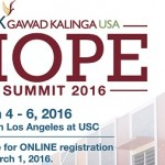 Gawad Kalinga USA Hope Summit in Los Angeles March 4-6