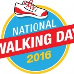 Get up and walk on National Walking Day, April 6