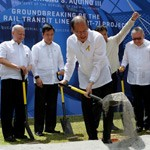 Aquino leads groundbreaking of Bulacan-Metro rail transit
