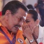 Erap Estrada won't debate with Lim, Bagatsing