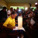 'Optimistic, serene' Roxas unfazed by poll cheating allegations