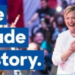 Clinton creates history, first woman presidential nominee